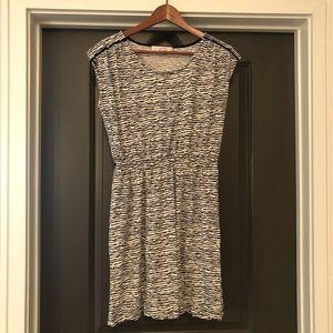 LOFT Dresses - Loft Ann Taylor Dress Size S Zebra Print Womens